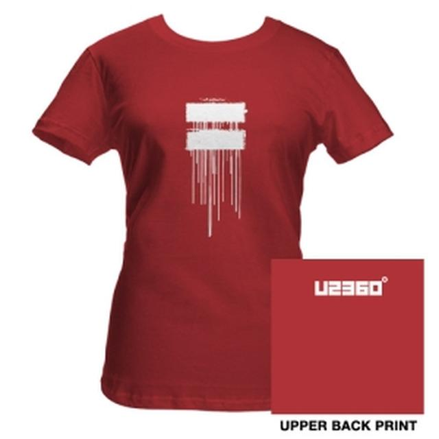 U2 Dripping Logo Babydoll Shirt