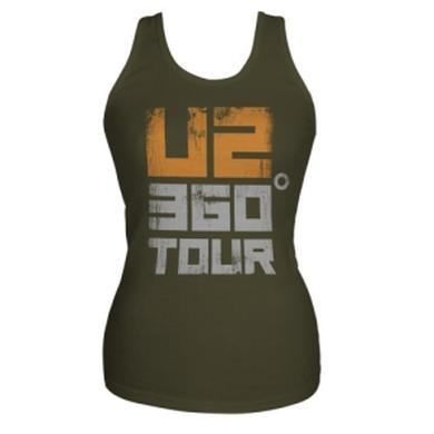 U2 360 Tour Tank Top