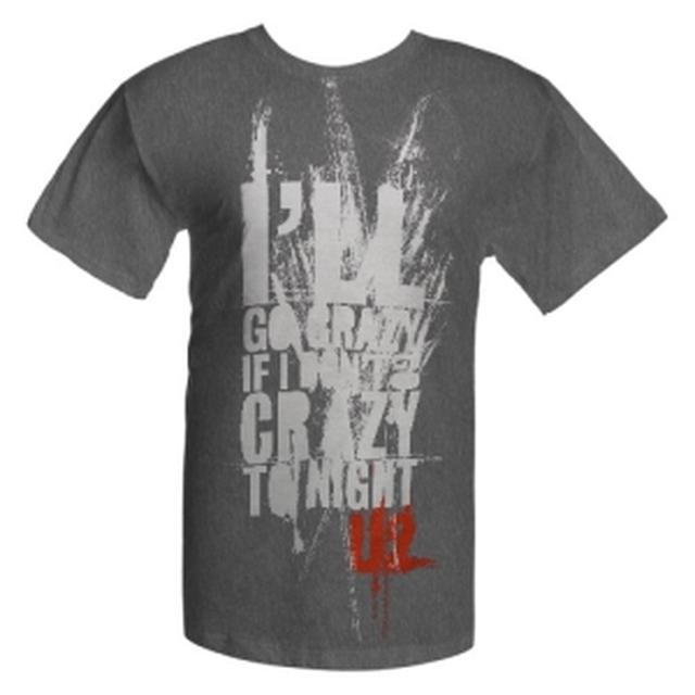 U2 'I'll Go Crazy If I Don't Go Crazy Tonight' T-Shirt