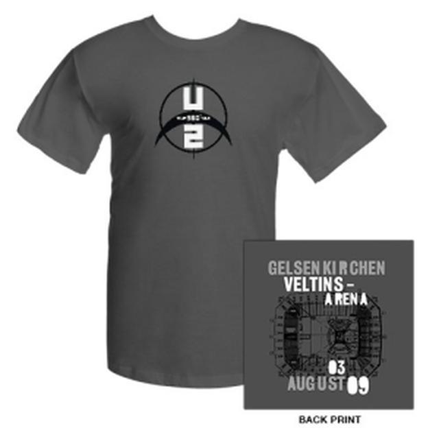 U2 Veltins Arena Gelsenkirchen T-Shirt