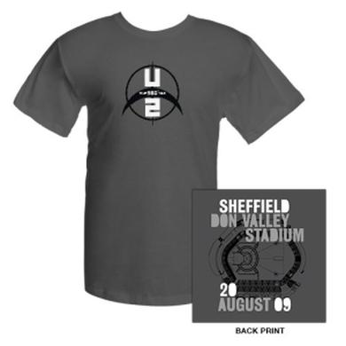 U2 Don Valley Stadium Sheffield T-Shirt
