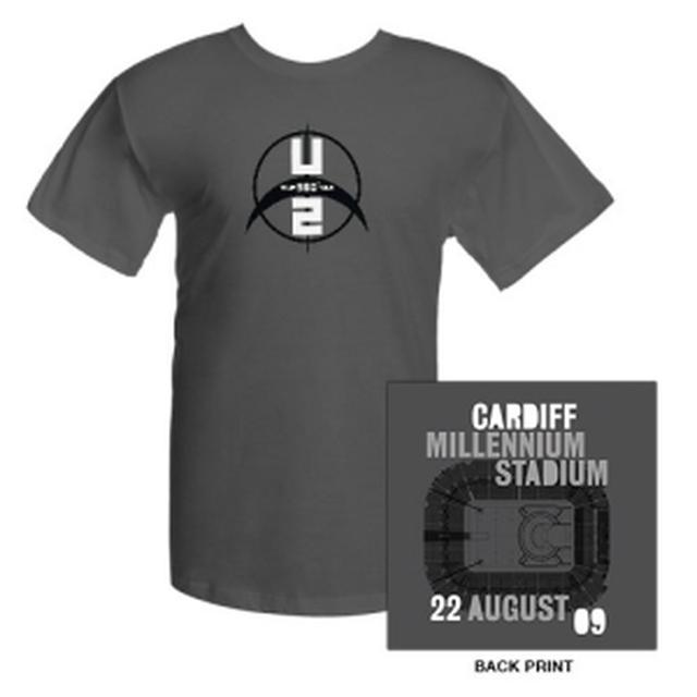 U2 Millennium Stadium Cardiff T-Shirt