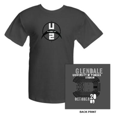U2com University Of Phoenix Stadium Glendale T-Shirt
