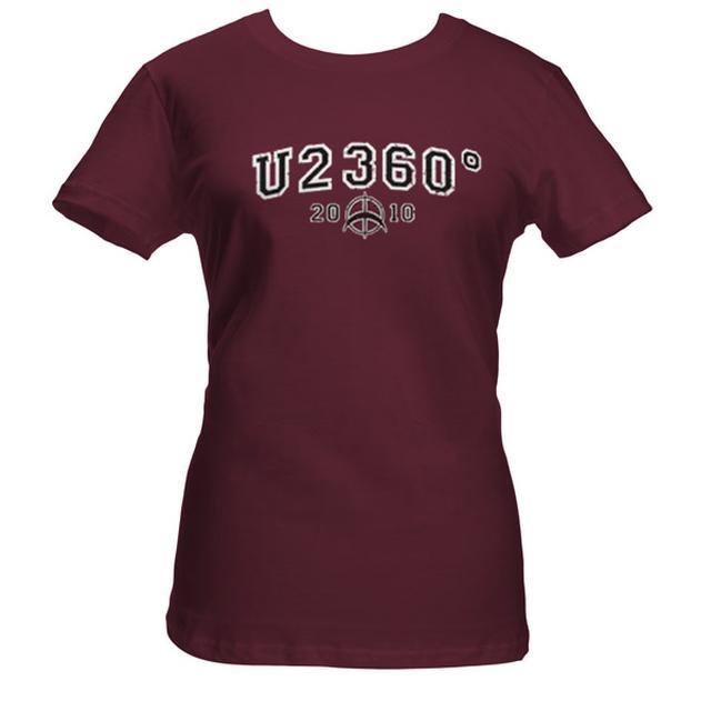 U2 360 Tour Babydoll Shirt