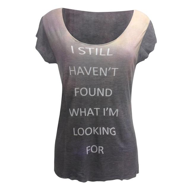 U2 'Still Haven't Found' Dip Dye T-Shirt