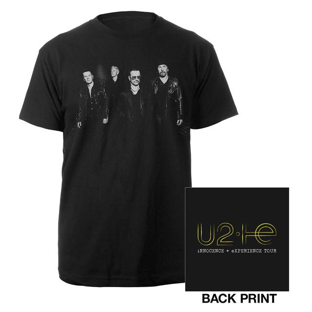 U2 Innocence + Experience Tour Photo Logo Shirt