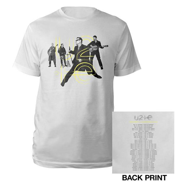 U2 Innocence + Experience Tour Live Photo T-Shirt