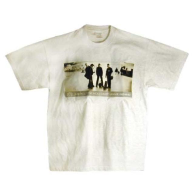 U2 T-shirt Ash   All That You Can't Leave Behind