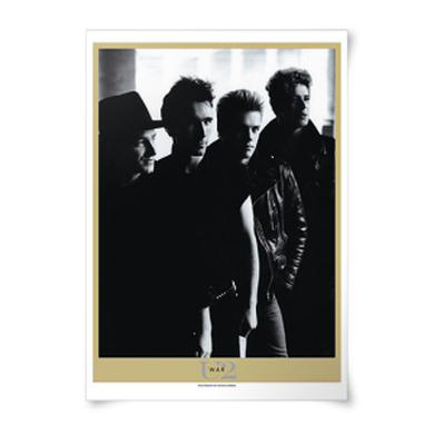 U2 'War' Album Lithograph