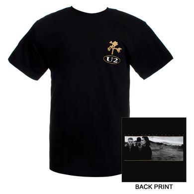 U2com The Joshua Tree Logo T-Shirt (2)
