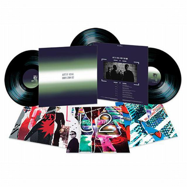 U2 'ARTIFICIAL HORIZON' Triple Vinyl Set