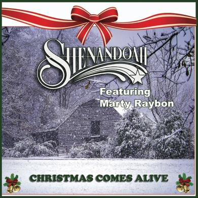 Shenandoah AUTOGRAPHED EP- Christmas Comes Alive  featuring Marty Rabon (Vinyl)