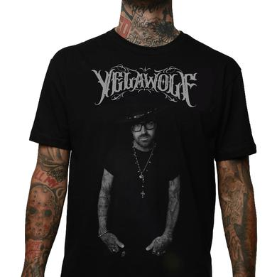 Slumerican Yelawolf Black Photo Tee w/ Canada Tour Dates
