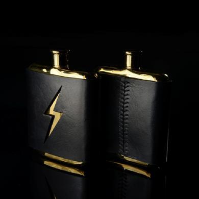 Slumerican Lightning Bolt Flask
