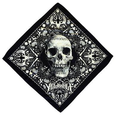 Slumerican Yelawolf Black Bandana- Skull Design