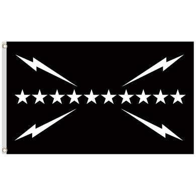"Slumerican 3""x5' Black Flag"