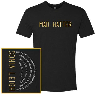 Sonia Leigh Black Mad Hatter Tee