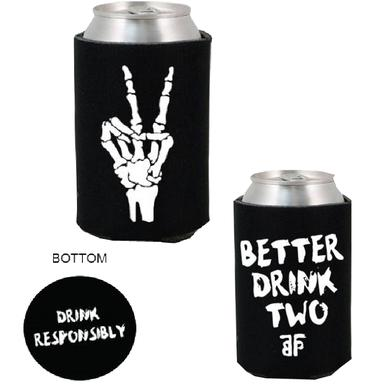 The Band Perry Black Pocket Koozie- Drink Two