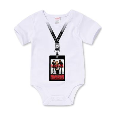 The Band Perry Baby Onesie in White