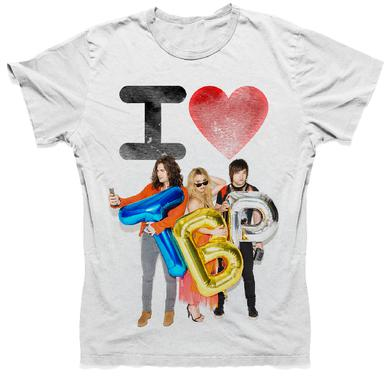The Band Perry Unisex White Tee- I Love TBP