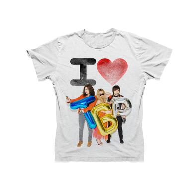 The Band Perry YOUTH White Tee- I Love TBP