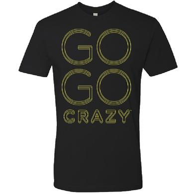The Band Perry Unisex Black Tee- Go Go Crazy