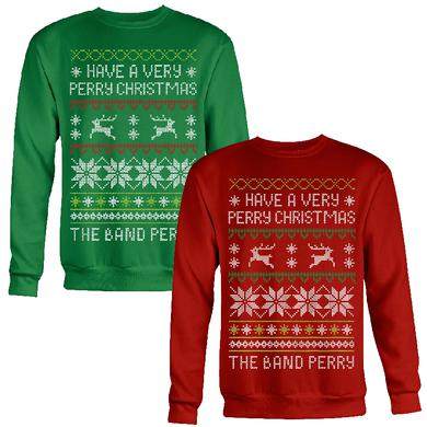 The Band Perry Ugly Christmas Sweatshirt