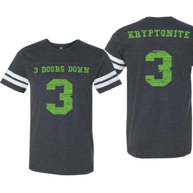 3 Doors Down Vintage Smoke Football Tee