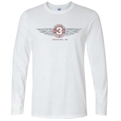 3 Doors Down Long Sleeve Fitted White Tee