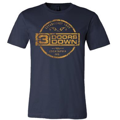 3 Doors Down Midnight Navy Tee