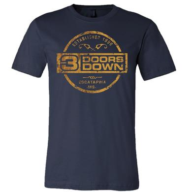 3 Doors Down Midnight Navy Tee