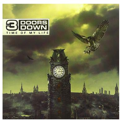 3 Doors Down CD- Time Of My LIfe