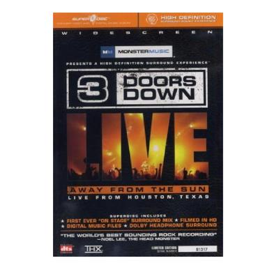 3 Doors Down DVD- Away From the Sun Live From TX