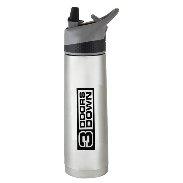 3 Doors Down 18oz Stainless Steel Water Bottle