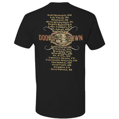 3 Doors Down Black Skull Tee