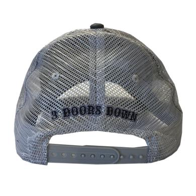 3 Doors Down Charcoal Ballcap