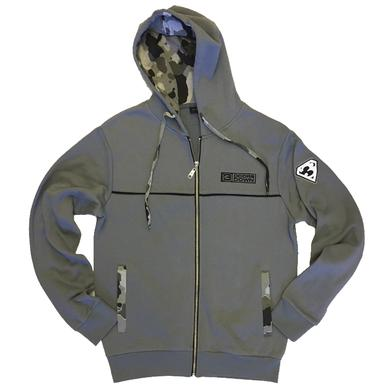 3 Doors Down Grey Zip Up Hoodie