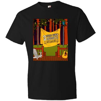 3 Doors Down Acoustic Back Porch Jam Black Tee