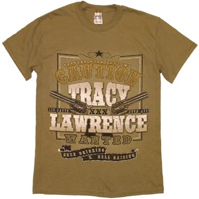 Tracy Lawrence Prairie Dust WANTED Tee