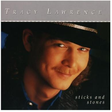 Tracy Lawrence AUTOGRAPHED CD- Sticks and Stones