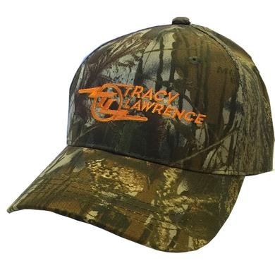 Tracy Lawrence Mossy Oak Camo Ballcap