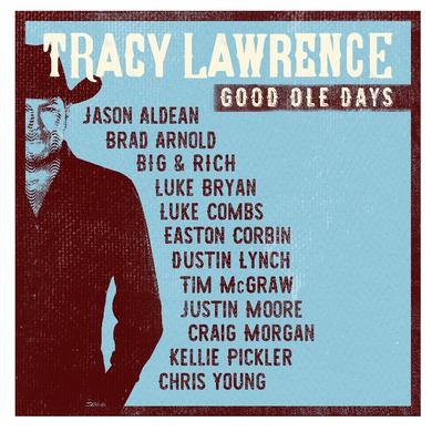 Tracy Lawrence AUTOGRAPHED Good Ole Days Book- PRESALE