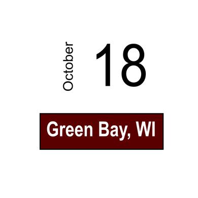 Tracy Lawrence Green Bay, WI October 18