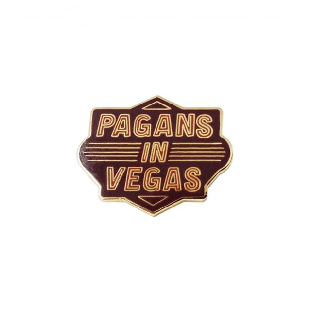 Metric Pagans in Vegas Lapel Pin