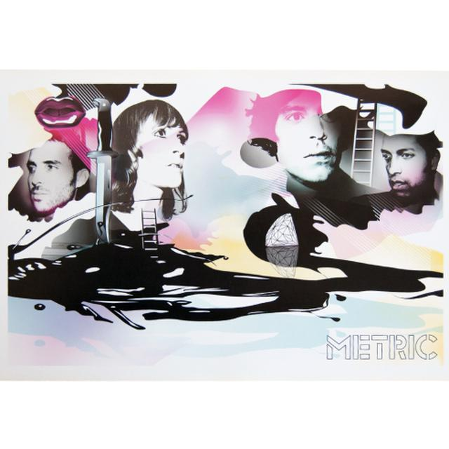 Metric Collage Poster
