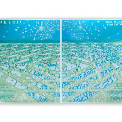 "Metric ""Lights on the Horizon"" 2016 Tour Poster Set"