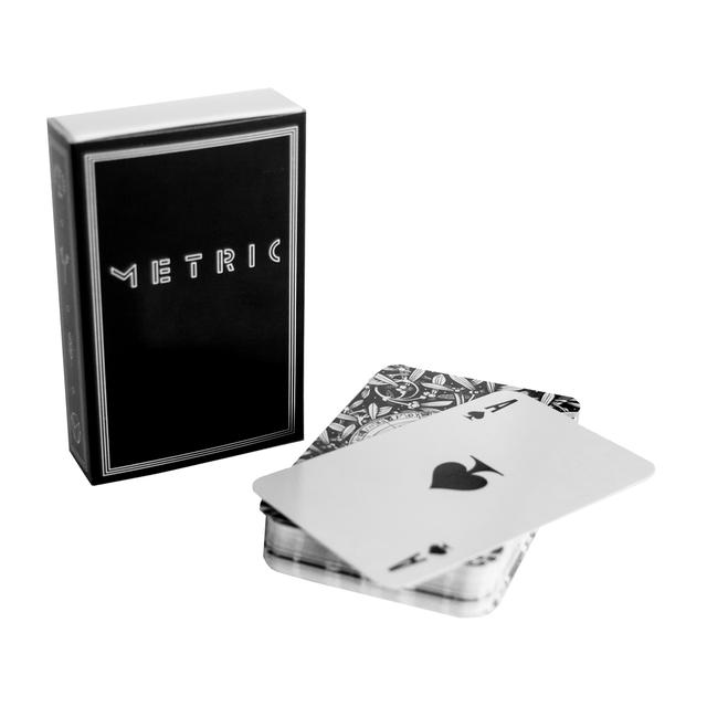 Metric Playing Cards