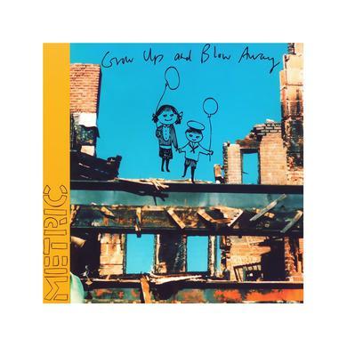 Metric Grow Up And Blow Away CD