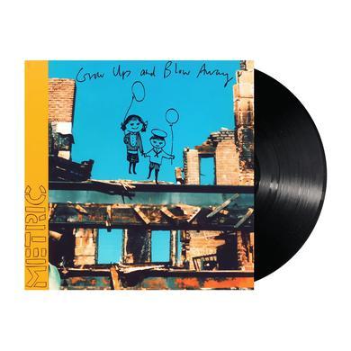 """Metric Grow Up And Blow Away 12"""" Vinyl"""