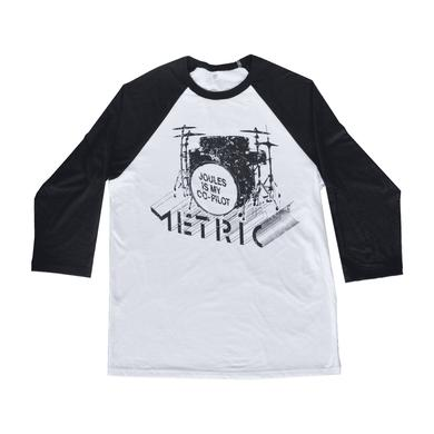 Metric Joules Is My Co-Pilot Raglan